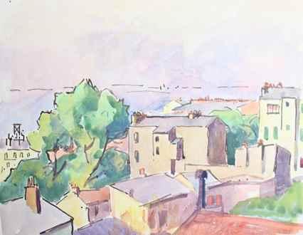 Ludovic-RodoPissarro - City View