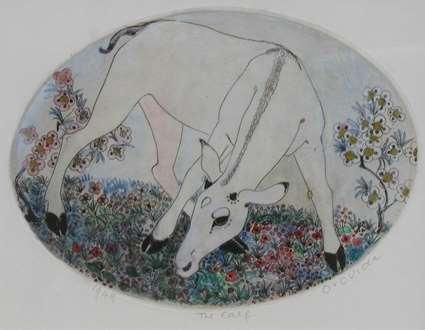 OrovidaPissarro - The Calf